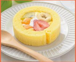 プレミアムフルーツロールケーキ