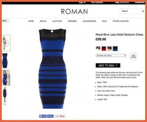 話題のドレス