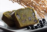 黒豆抹茶玄米ケーキ